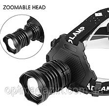 Налобний фонарь X-Balog BL-Т70 - P70, фото 2