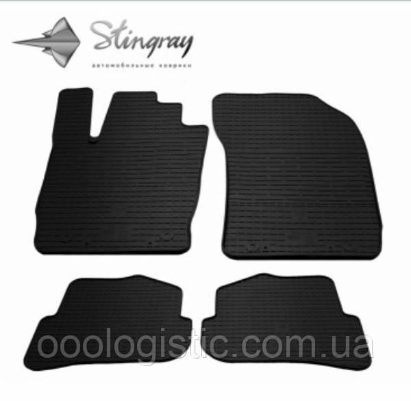 Автоковрики на Audi A1(8X) 2010-2018 Stingray гумові 4 штуки