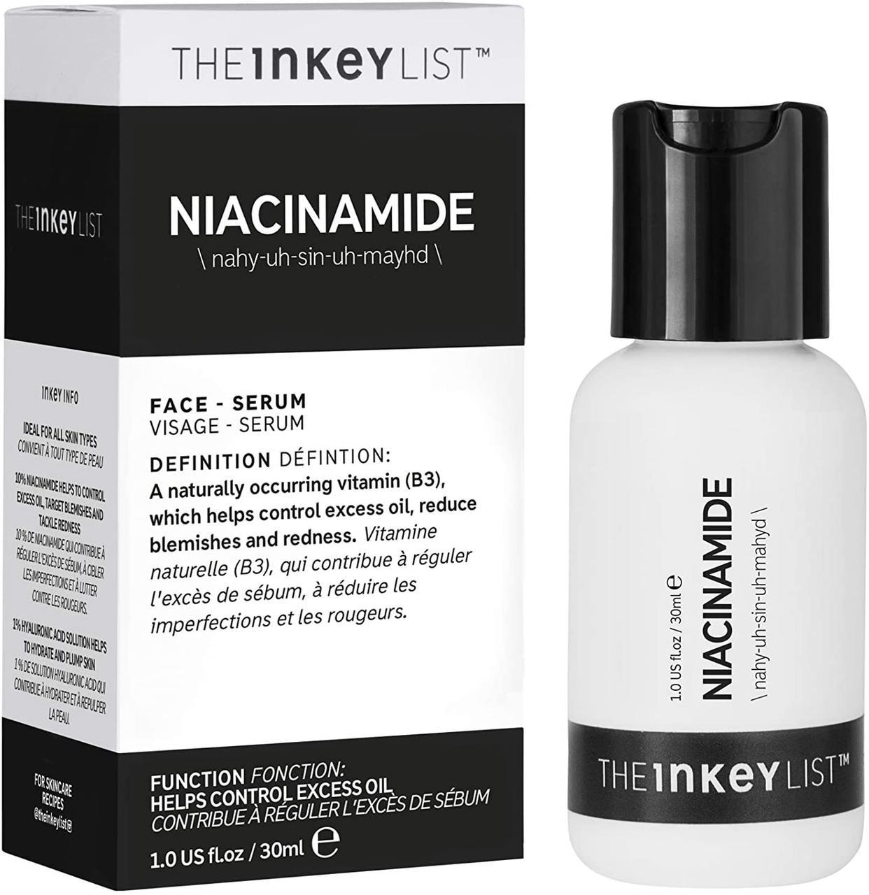Сыворотка с ниацинамидом THE INKEY LIST  Niacinamide  30 мл