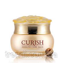 Дневной крем от морщин с экстрактом улитки Gold Snail Curish