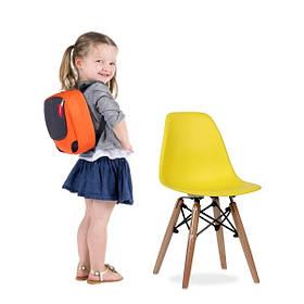 Стілець дитячий Тауер Вaby SDM пластиковий Жовтий КОД: hub_hEJF59658