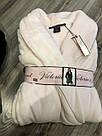 Жіночий халат Victoria's Secret плюшевий (Ніжно рожевий, XS/S), фото 6