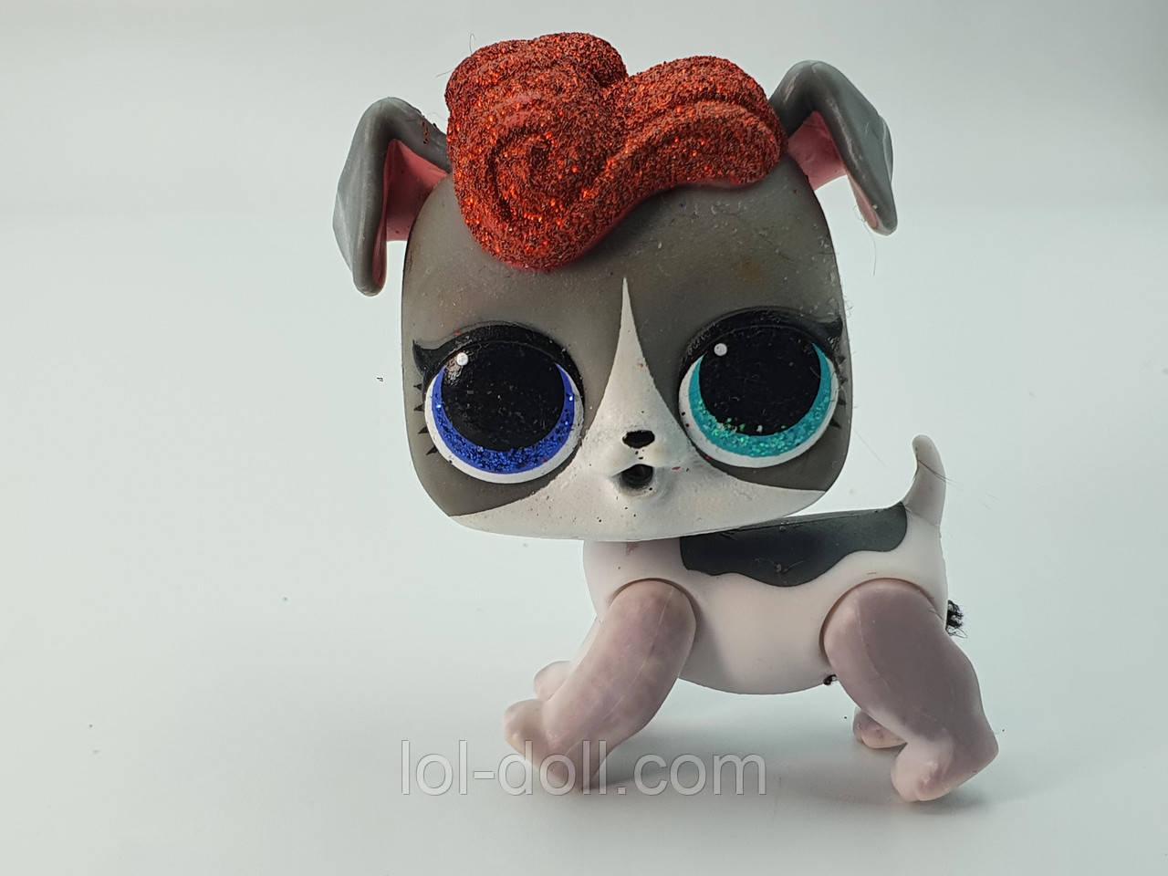Кукла LOL Surprise Winter Disco Lil`s Doggie Stardust - Лол Сюрприз Без Шара Оригинал