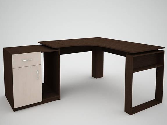 Письменный прямой офисный стол FlashNika / ФлешНика СН ЭКО 20, фото 2