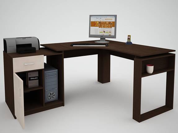 Письмовий прямий офісний стіл FlashNika / ФлешНика СН ЕКО 20, фото 2
