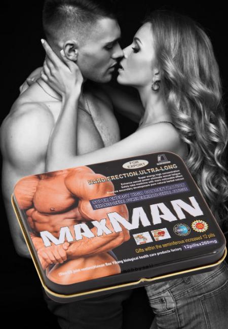 Максмен Maxman - Средства для потенции мужчин для эрекции, Мужские препараты для повышения потенции