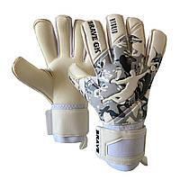 Перчатки вратарские BRAVE GK REFLEX CAMO WHITE (размер 8)