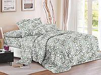 Комплект постельного белья 3Д полуторный размер Бязь Беларусь арт. Деньги