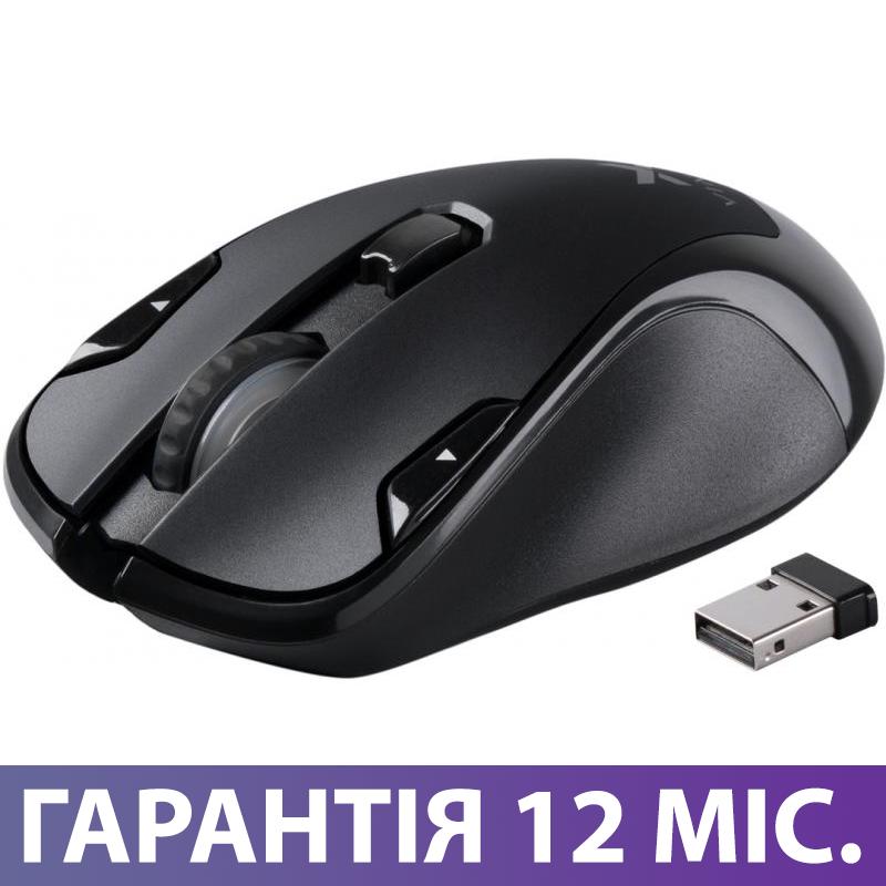 Беспроводная мышка Vinga MSW-527 черная, мышь для ноутбука