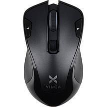Беспроводная мышка Vinga MSW-527 черная, мышь для ноутбука, фото 3