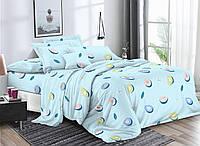 Комплект постельного белья 3Д полуторный размер Бязь Беларусь арт. Авокадо