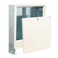 Водяной теплый пол - шкаф встроенный 340х675х120 (2 вых.)