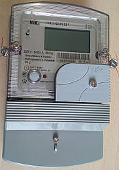 НИК 2102-01.Е2Т (5-60А) Однофазный многотарифный электронный счетчик электрической энергии электросчетчик