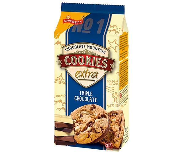 Шоколадне печиво Griesson - Cookies Crispy Brownie 150g