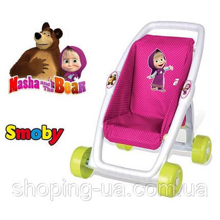 Коляска для кукол Маша и Медведь Smoby 250201, фото 2