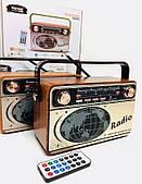 Радиоприемник Kemei аккумуляторный с пультом, Bluetooth, Радио