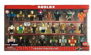 Фигурки героев компьютерной игры Roblox18838 Роблокс - 24 героя, аксессуары