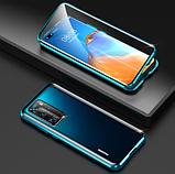 Магнітний металевий чохол FULL GLASS 360° для Huawei P30 Pro /, фото 2