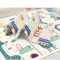 Детский раскладной коврик Folding baby mat 180х150см (NJ-15)