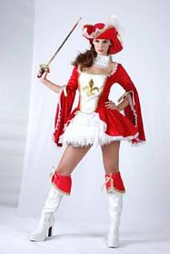 Карнавальный костюм Мушкетерка, в пакете S/M