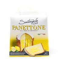 Панеттоне  Santagelo PANETTONE alla crema di limone  908г Италия