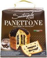 Панеттоне  Santagelo PANETTONE alla creme di cacao  908г Италия