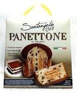 Панеттоне  Santagelo PANETTONE alla creme Tiramisu  908г Италия