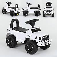 Машина-толокар JOY 808-G-8005 белый (музыка, свет), фото 1