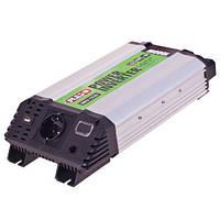 Преобраз. напряжения PULSO/IMU-1020/12V-220V/1000W/USB-5VDC2.0A/мод.волна/клеммы (IMU-1020)
