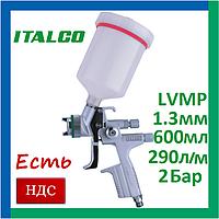 Italco H-5005-1.3LM. lvmp. Краскопульт для покраски автомобиля пневматический, профессиональный, италко, фото 1