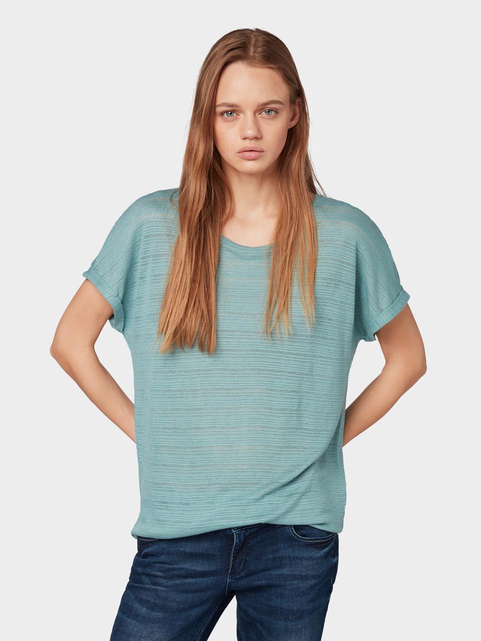 Блуза Tom Tailor 1010916 M Голубой