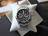 Часы Tissot Couturier Chronograph 42 mm Silver&Black, фото 2
