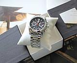 Часы Tissot Couturier Chronograph 42 mm Silver&Black, фото 3