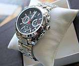 Часы Tissot Couturier Chronograph 42 mm Silver&Black, фото 5