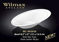 Wilmax Салатник 21*14,5см tp992656