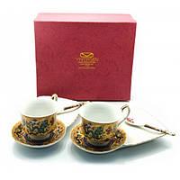 Сервиз Yamasen Драконы 2 чашки + 2 блюдца фарфор 44251, КОД: 1367013