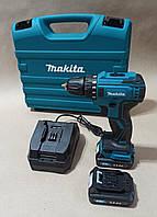 Шуруповерт Makita DF 332 brushless (бесщеточный двигатель) 🔹18V/3A Li-ion 2 аккума 🔹 Гарантия 1 год⇒ПОЛЬША
