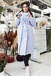 Женское стеганое пальто, про-во Украина, 2 цвета, размер: OVERSIZE 42-46, 48-52., фото 2