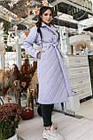 Женское стеганое пальто, про-во Украина, 2 цвета, размер: OVERSIZE 42-46, 48-52., фото 4