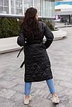 Женское стеганое пальто, про-во Украина, 2 цвета, размер: OVERSIZE 42-46, 48-52., фото 6