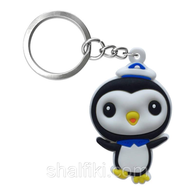 """""""Пінгвін Песо (Октонавти / Octonauts)"""" брелок гумовий односторонній"""