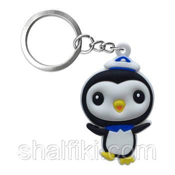 """""""Пингвин Песо (Октонавты / Octonauts)"""" брелок резиновый односторонний"""