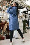 Женское зимнее пальто, про-во Украина, 2 цвета, размер: OVERSIZE 42-46, 48-52., фото 4