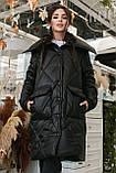 Женское зимнее пальто, про-во Украина, 2 цвета, размер: OVERSIZE 42-46, 48-52., фото 5