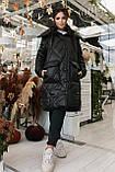Женское зимнее пальто, про-во Украина, 2 цвета, размер: OVERSIZE 42-46, 48-52., фото 6