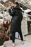 Женское зимнее пальто, про-во Украина, 2 цвета, размер: OVERSIZE 42-46, 48-52., фото 7