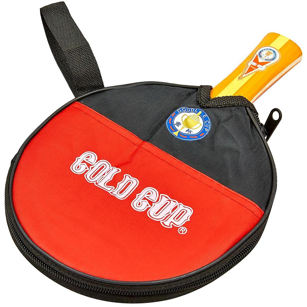 Ракетка для настольного тенниса 1 штука в чехле GOLD CUP 791