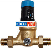 Редуктор давления мембранного типа Watts DRVN15 1,5-6 бар