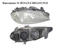 Фара правая 99- RENAULT MEGANE 95-03 (РЕНО МЕГАН) (7700427870)