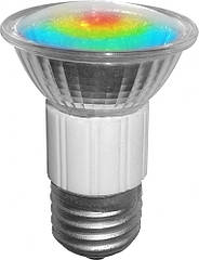 Лампа BUKO led JDR 1.2 Вт 80 Лм E 27 18 leds разноцветная 2 шт ЛС01366, КОД: 1711579